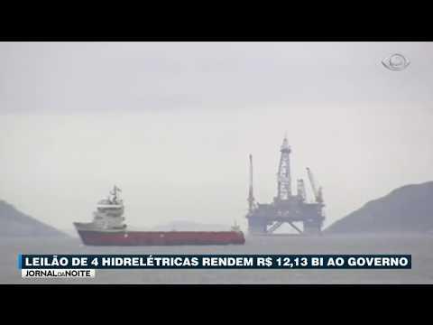 Leilão De 4 Hidrelétricas Rende R$ 12,13 Bi Ao Governo