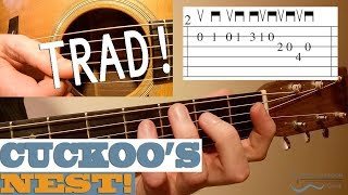 Cuckoo's Nest - Traditional IRISH Flatpicking Tune | Bluegrass Guitar Lesson with TAB