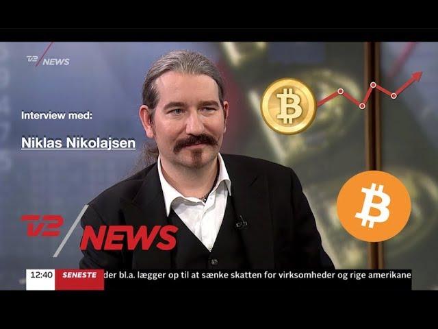 TV2 News om Bitcoin, Interview m. Niklas Nikolajsen #1
