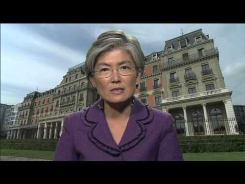 Kyung-wha Kang Deputy High Commissioner for the OHCHR pledges her support to Child Health Now