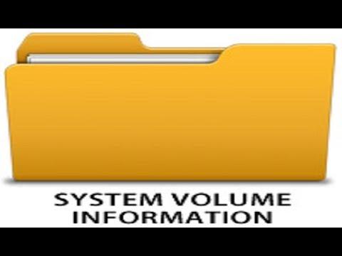 Как удалить папку System Volume Information ?