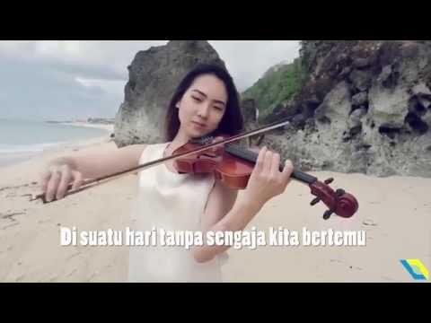 Anji - Dia Violin/Biola Cover Kezia Amelia (Karaoke) dengan Lirik