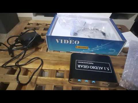 Digital Audio 5.1 Decoder Unboxing & Installing