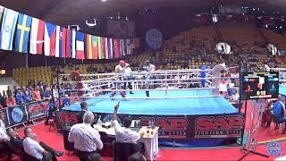 Gambar cover 1/2 FINAL: Ahmed Krnjić (BiH) vs Roman Scherbatiuk (UKR) (WAKO Eyropean Championship 2018)