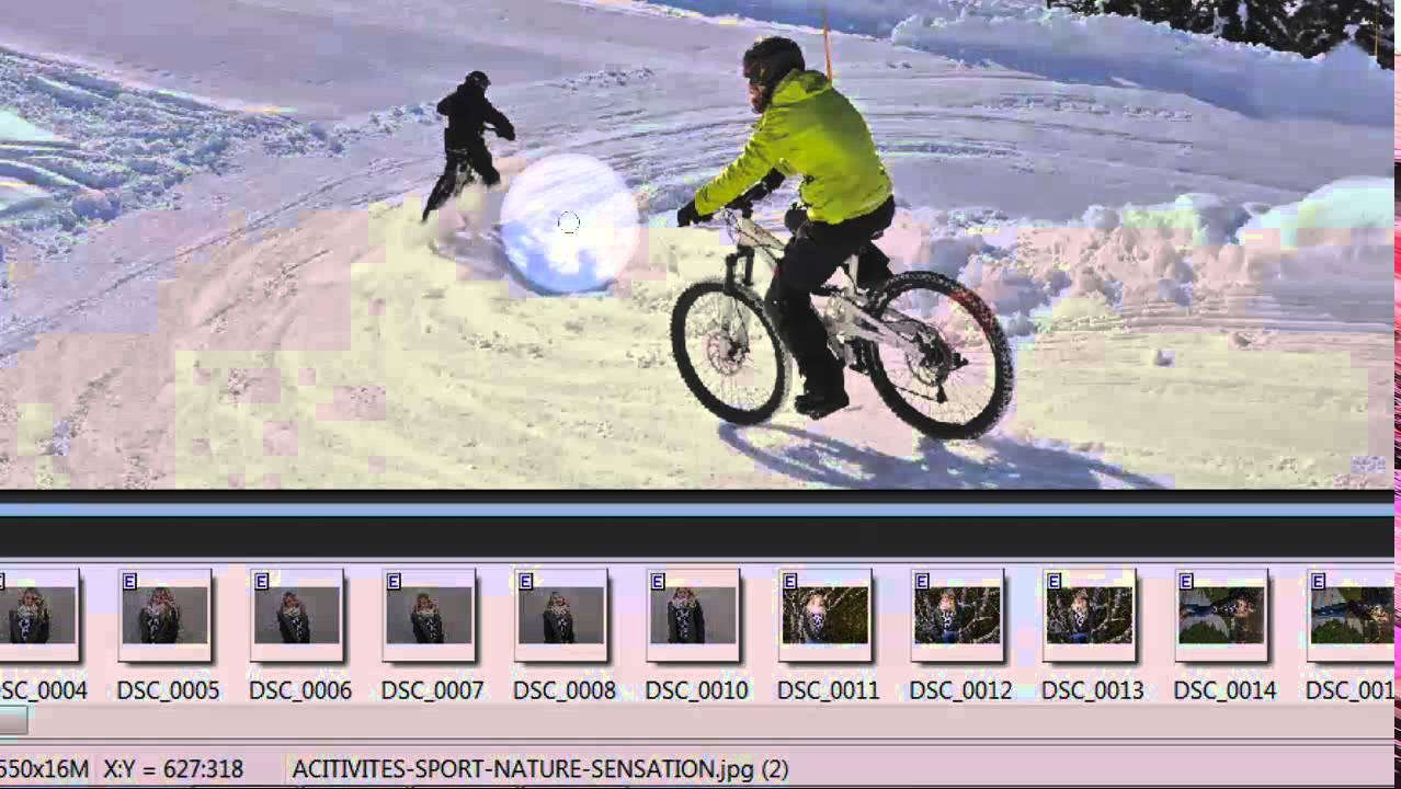 Comment Enlever Un Personnage D Une Photo Avec Photofiltre 7 Youtube