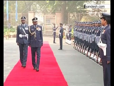 Guard Of Honor For Vice Chief IAF, SB DEO Air HQ ॥ Sandesh News
