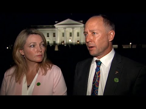 Nicole Hockley, Mark Barden react to discussion with President Trump