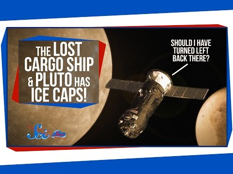 The Lost Cargo Ship, and Pluto Has Ice Caps!