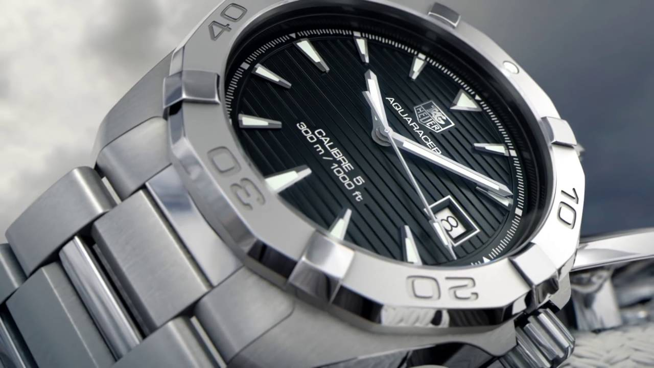 TAG Heuer Aquaracer 300m Calibre 5 Automatic Watch by Cohen