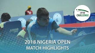 Rares Sipos vs Mohamed El-Beiali | 2018 Nigeria Open Highlights (R16)
