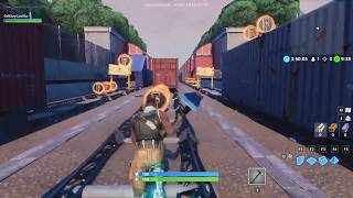 Railroad Runners by StormHawk - Custom Island - Fortnite Creative Mode - Super Fun Collecting Coins