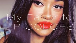 My Favvv Lip Colors | Vol. 1 Thumbnail