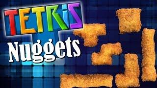 DIY Tetris Chicken Nuggets