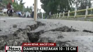 Pasca Gempa, Jalan - Jalan Di Aceh Alami Keretakan - INews Petang 08/12