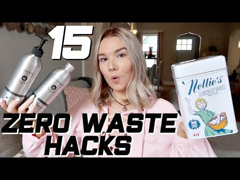 15 ZERO WASTE LIFE HACKS! | THINGS I STARTED BUYING | easy sustainable lifestyle hacks + swaps