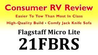 2020 Flagstaff Micro Lite 21FBRS  Review (Rockwood Mini Lite 2109S) - 4k UHD