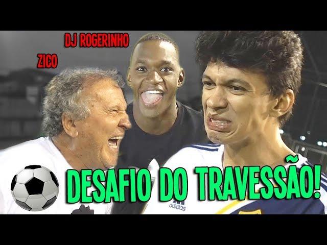 ZICO ODEIA O DESAFIO DO TRAVESSÃO!!! :(
