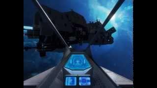 Space Engineers: Dromedary Trade Ship demonstration
