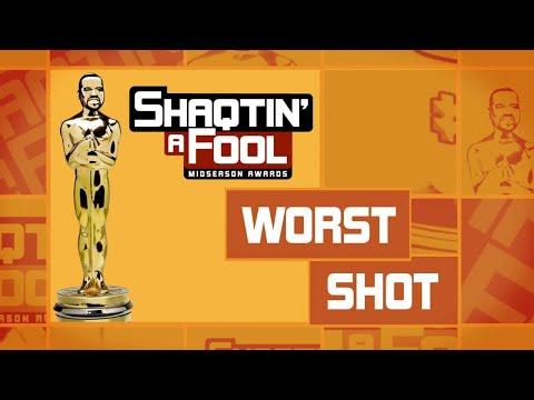 Shaqtin' A Fool Midseason Award: The Worst Shot