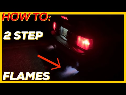 How To 2 Step Your Car | MSD 6AL-2 | Flames And Launch Control | Foxbody Mustang