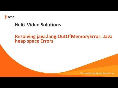 Resolving Java.lang.OutOfMemryError: Java Heap Space