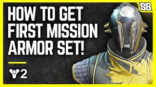 Destiny 2 - GET YOUR FIRST MISSION ARMOR BACK - Vanguard Research Faction