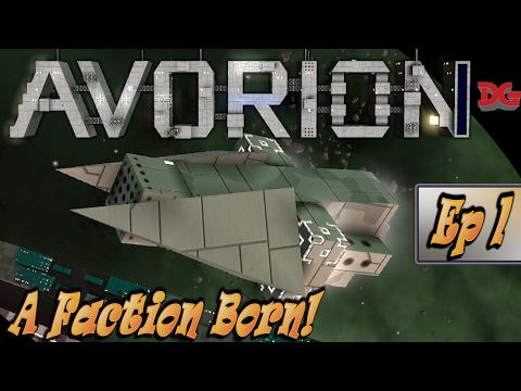 Avorion Let's Play ► Episode 1 - A Faction Born! (1440p/60)