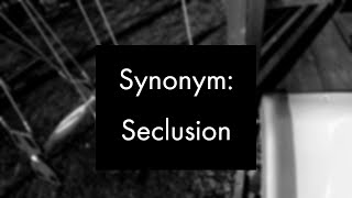 Synonym: Seclusion, Experimental Video Art and Music by Collin Thomas