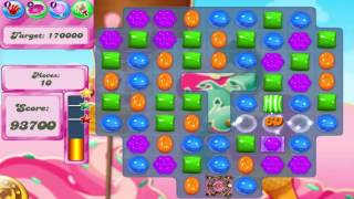 Candy Crush Saga Level 1617 Hard Level With No Boosters