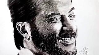 Timelapse - Anil Kapoor Sketch || Sonam Kapoor || Rhea Kapoor