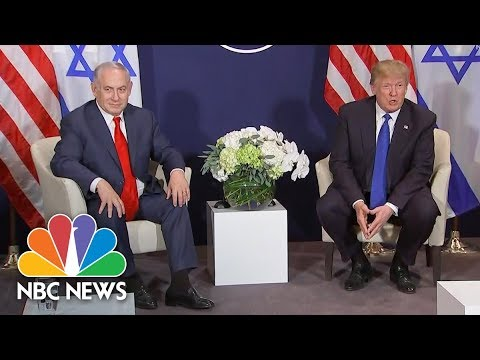 President Donald Trump Discusses Jerusalem with Prime Minister Benjamin Netanyahu | NBC News