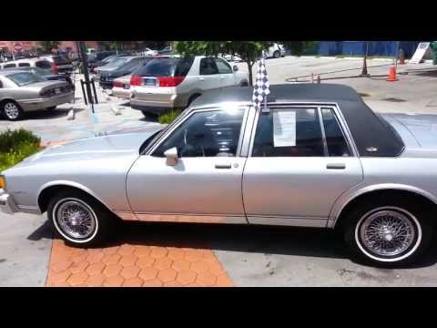 1985 chevrolet caprice classic for sale karconnectioninc com miami fl youtube 1985 chevrolet caprice classic for sale
