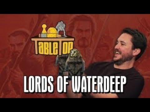 Lords of Waterdeep: Felicia Day, Pat Rothfuss, and Brandon Laatsch Join Wil on TableTop SE