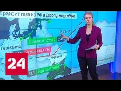 """Рекордный отчет: строительство """"Северного потока - 2"""" идет строго по графику - Россия 24"""