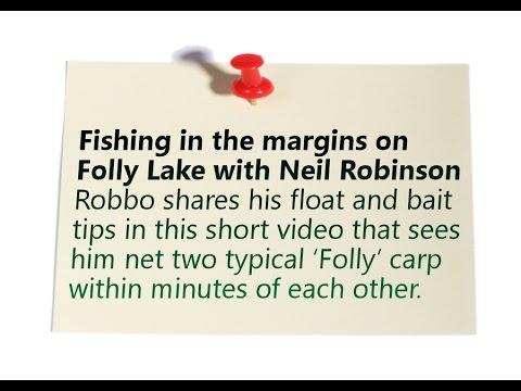Risby Park Fishing Ponds - Margin Fishing on Folly Lake