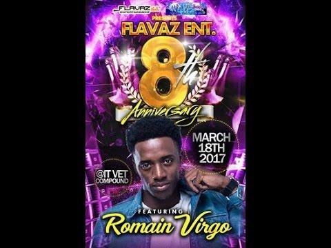 Romain Virgo 2017 Concert in Belize Highlight