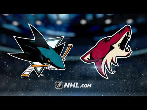 Jones makes 26 saves as Sharks top Coyotes, 3-1