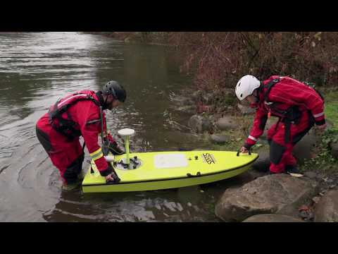 Hydrographic Surveying - Unmanned Survey Vessel