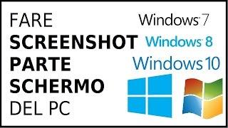Come Fare Screenshot Pc Windows 7 — ZwiftItaly