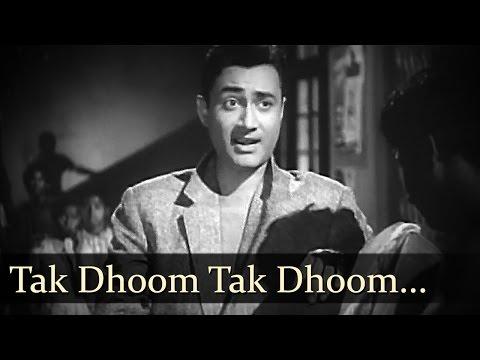Tak Dhoom Tak Dhoom Baaje - Dev Anand - Tuntun - Bambai Ka Babu - Philosophical Song