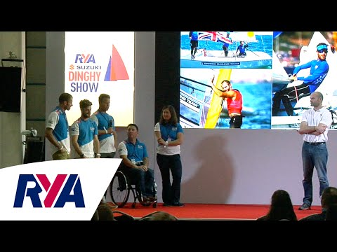 British Sailing Team 'The Road to Rio' - at the RYA Suzuki Dinghy Show 2016
