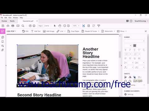 Acrobat Pro DC Tutorial Adding And Editing Images - Adobe Acrobat Pro DC Training Tutorial Course