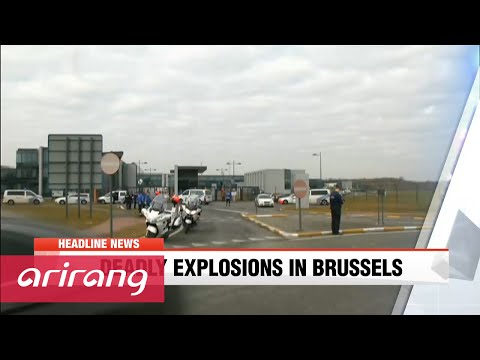 NEWSCENTER 22:00 Explosions rock Brussels, at least 20 killed