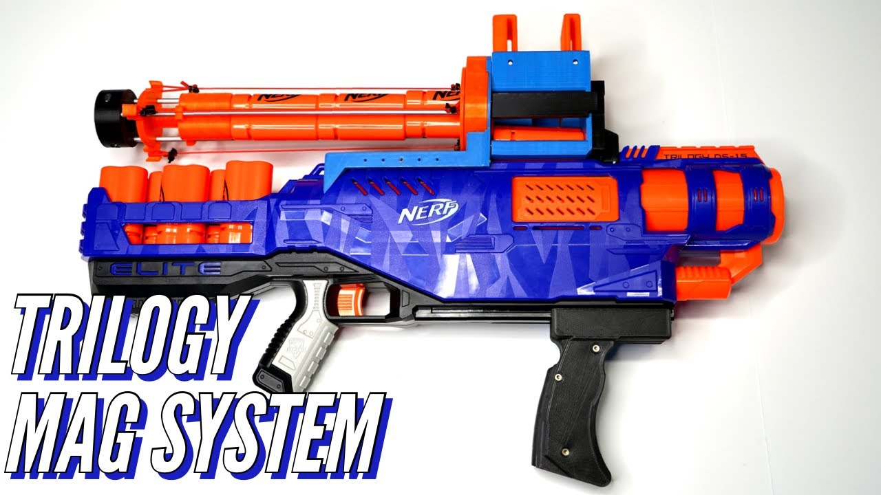 Nerf Trilogy Mag System Kit Review [4K]