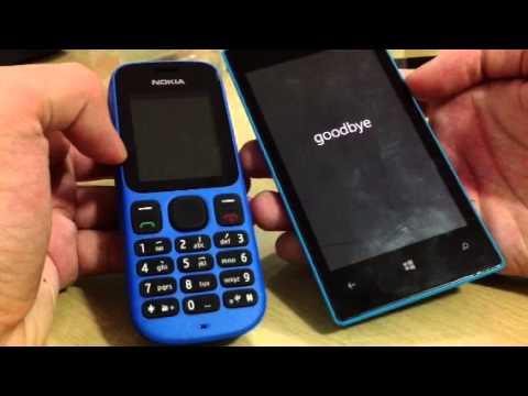 Nokia 100 vs Lumia 520-Boot race
