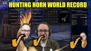 Hunting Horn World Record Attempt (any%) -  (Monster Hunter World - PS4 Supersample 1080p60)
