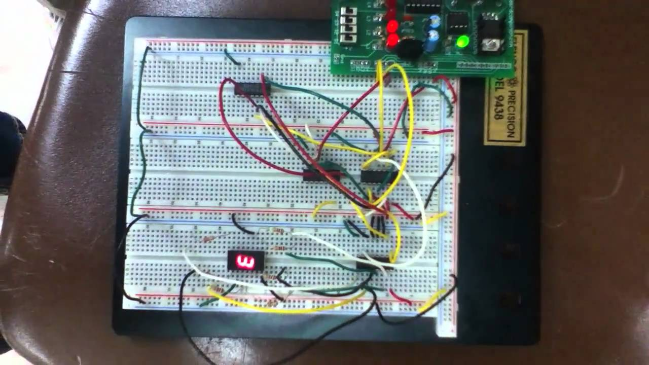 Project Lead the Way - Digital electronics: 2-6, 3 bit counter - YouTube