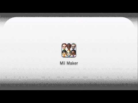 Nintendo Wii U - Mii Maker - Mii Editor (TV) Music Extended