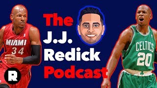 Ray Allen on Life After the NBA and 'He Got Game' | The J.J. Redick Podcast | The Ringer