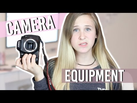 MY CAMERA EQUIPMENT!?